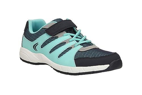 2c19dffbdfc9 Clarks Cross Dart Infant Girls Sport Shoe Blue Combi  Amazon.co.uk ...