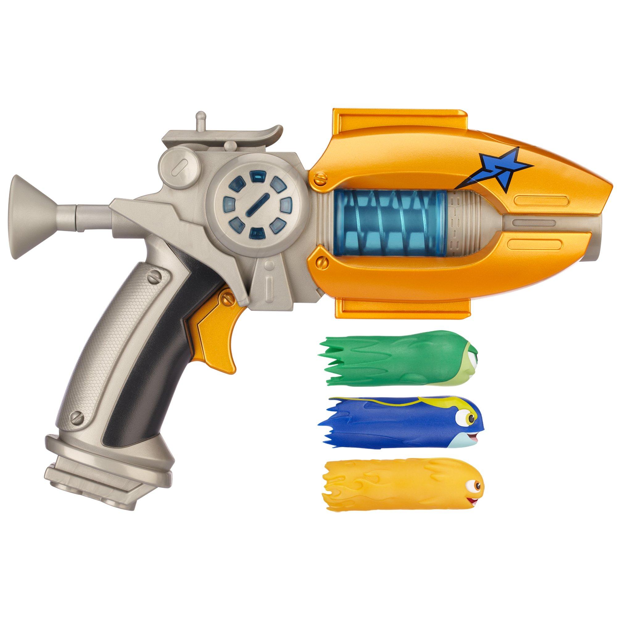 Slugterra Eli's Blaster 2.0 Defender Slipstream XVL with 3 Firing Slugs