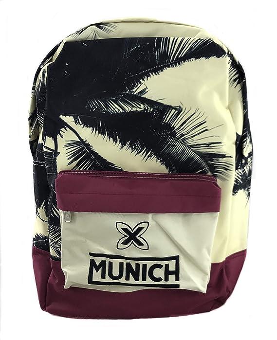 Pasa el ratón por encima de la imagen para ampliarla Munich Colors Mochila Tipo Casual, 45 cm, 19 Litros, Multicolor Escolar: Amazon.es: Equipaje