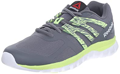 Womens Shoes Reebok Sublite XT Cushion MT Alloy/Luminous Lime/White
