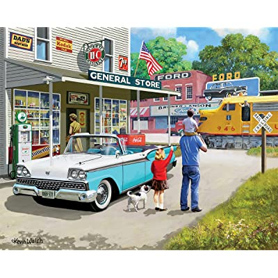 White Mountain Puzzles American Classics - 1000 Piece Jigsaw Puzzle: Toys & Games