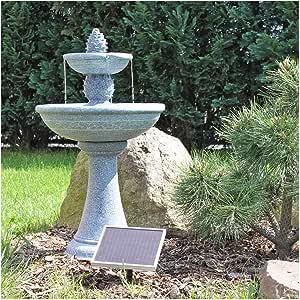 CLGarden NSP6 Cactus fuente solar, fuente solar completa para jardín, balcón o terraza: Amazon.es: Jardín