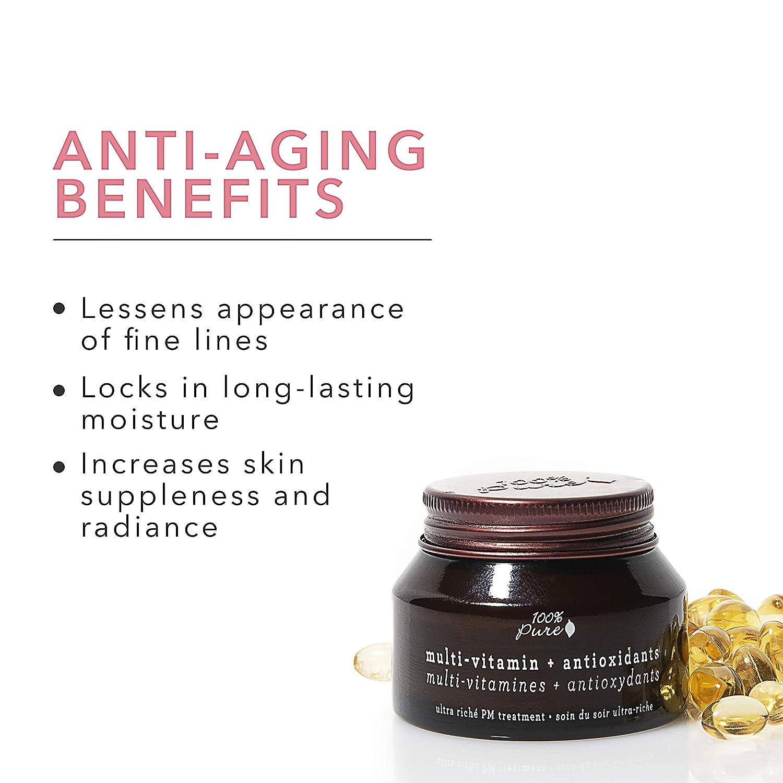 Multi-Vitamin + Antioxidants Ultra Riche PM Treatment by 100% pure #6