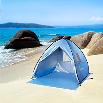 WolfWise Easy Pop Up Beach Tent Instant Sun Shelter Tent & Amazon.com: WolfWise Easy Pop Up Beach Tent Instant Sun Shelter ...