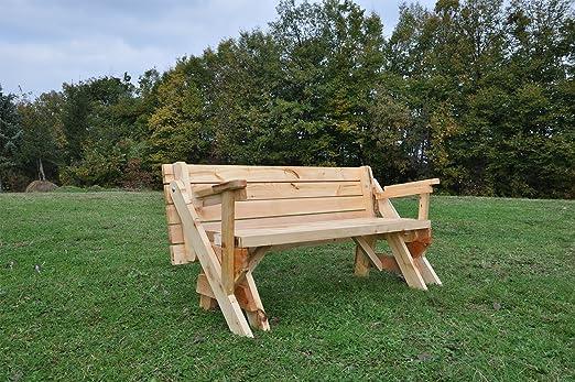 Plegable banco y mesa de picnic Combo | material: madera de pino ...