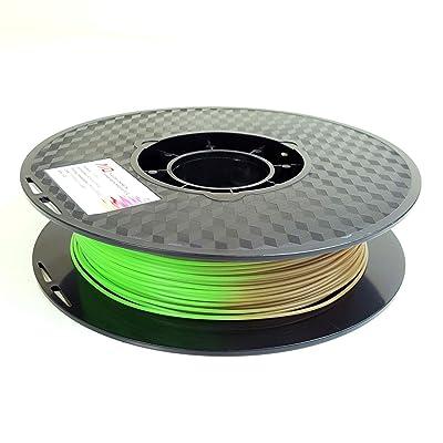 AIO robótica aiotempbrowntogreen Pla 3d impresora filamento ...