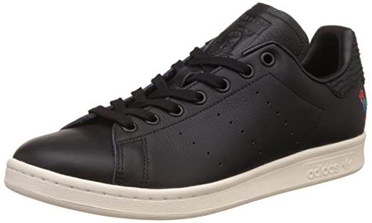 Adidas Men\u0027s Stan Smith Cny Sneaker Low Neck, Black (Core Black/Core Black