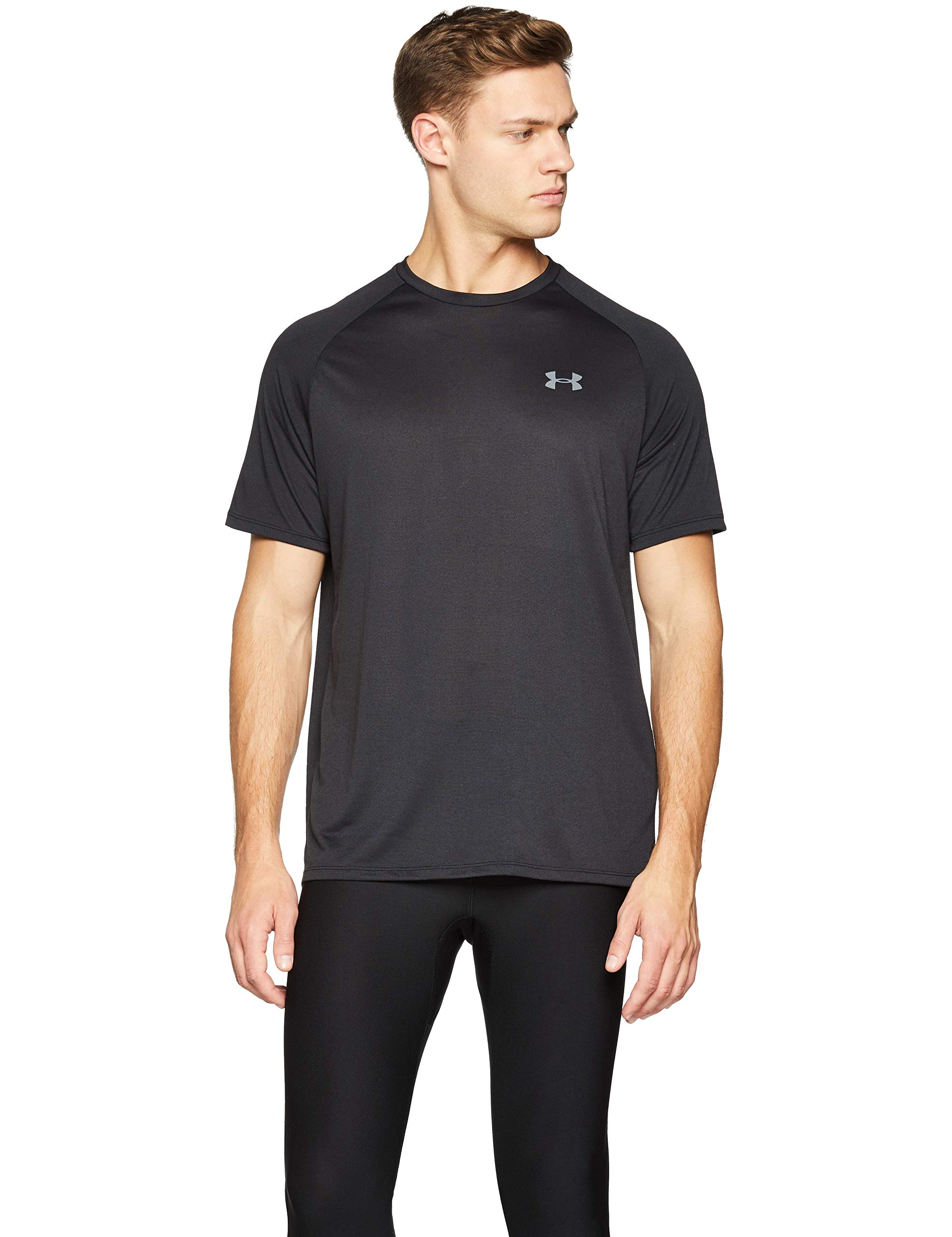 Under Armour Men's UA Tech Short Sleeve Tee 2.0, Black, XS-R