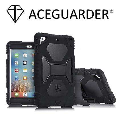 new arrivals 4750b 0a86d Amazon.com: iPad Mini Case, Kids Case ACEGUARDER Full Body ...