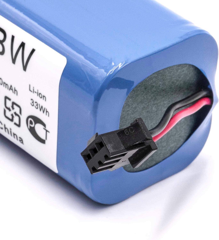 robot de limpieza vhbw Bater/ía compatible con Cecotec Conga Excellence 990 aspiradora 2200mAh, 14,8V, Li-Ion