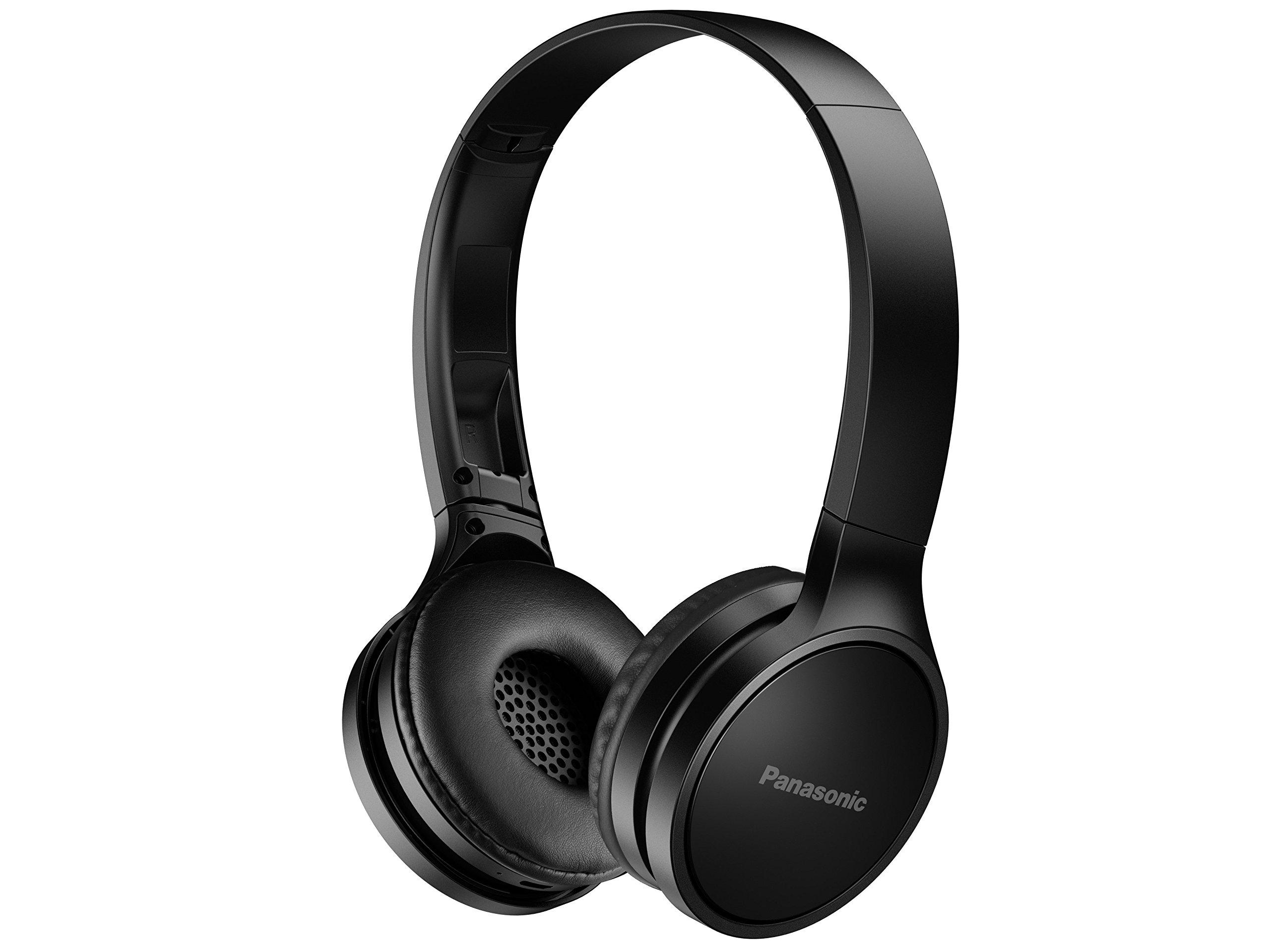 Panasonic RP-HF400B-K Bluetooth On-Ear Headphones Black