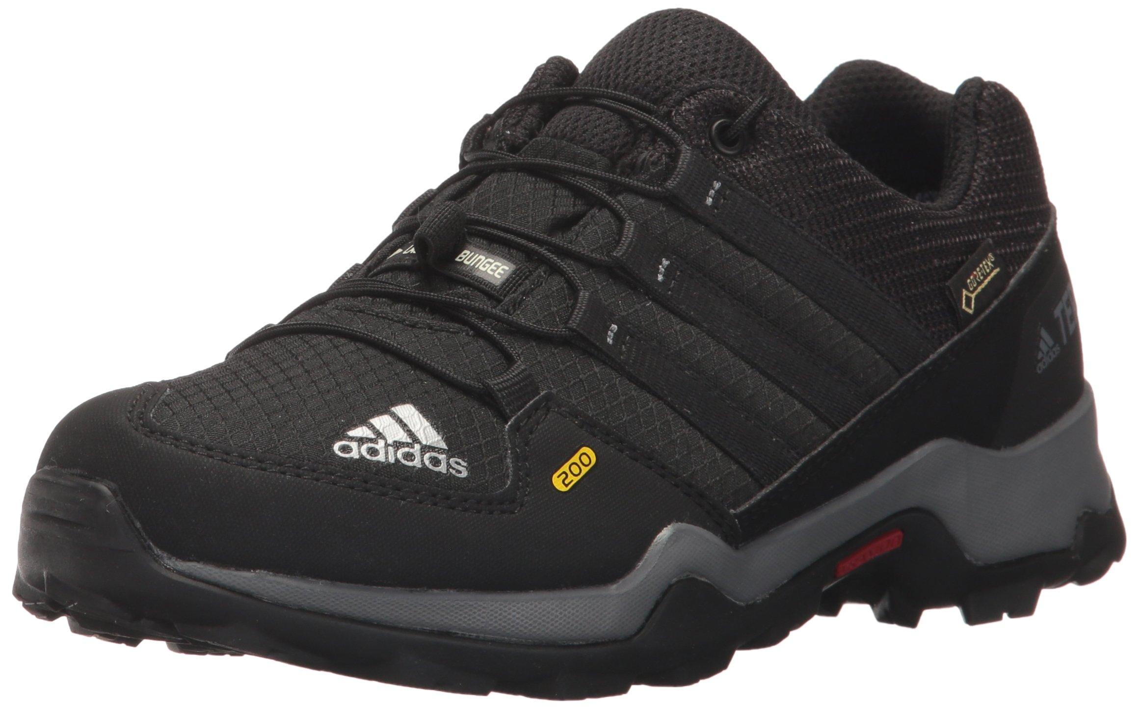 adidas outdoor Terrex Gore-Tex Hiking Shoe Black/Vista Grey, 3.5 Child US Big Kid