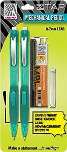 Zebra z-tap portaminas 0,7 mm, 2 Pack Starter Kit, Color Azul (53142): Amazon.es: Oficina y papelería