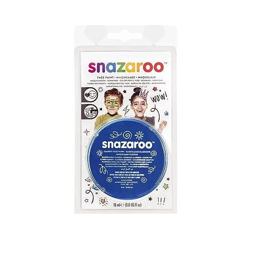 110 opinioni per Snazaroo- 11344, Colore per il viso, 18 ml, Blu (Royal Blue)