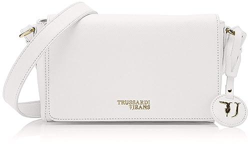 0f3ceb273b Trussardi Jeans T-easy Light Cacciatora Borsa a tracolla Donna, 24x16x8 cm  (W x H x L)