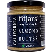 FITJARS California Almond Butter Smooth Unsalted-7.05 Oz …