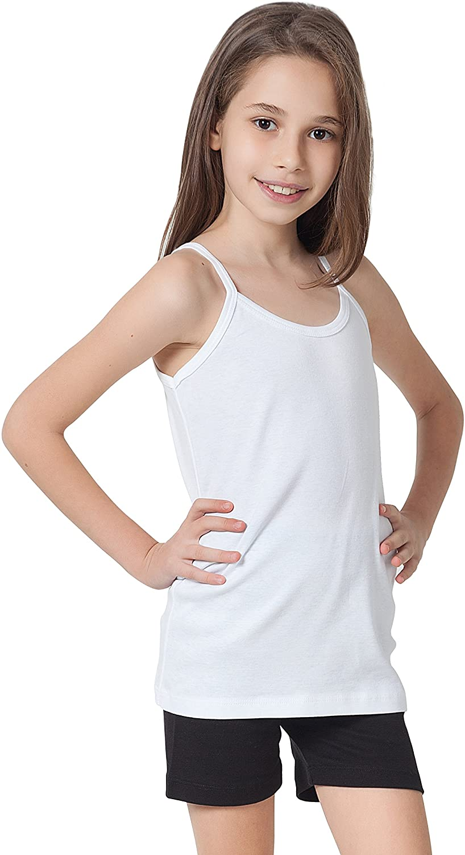 kids children girls basic shell vest top 7//8 9//10 11//12 13//14 stretch