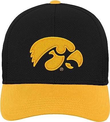Youth Adjustable Zephyr NCAA Iowa Hawkeyes Boys Chutechute Hat Team Color