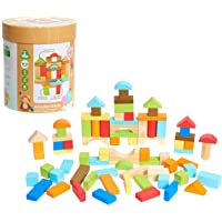 Early Learning Centre Wooden Bricks 75-Piece Deals