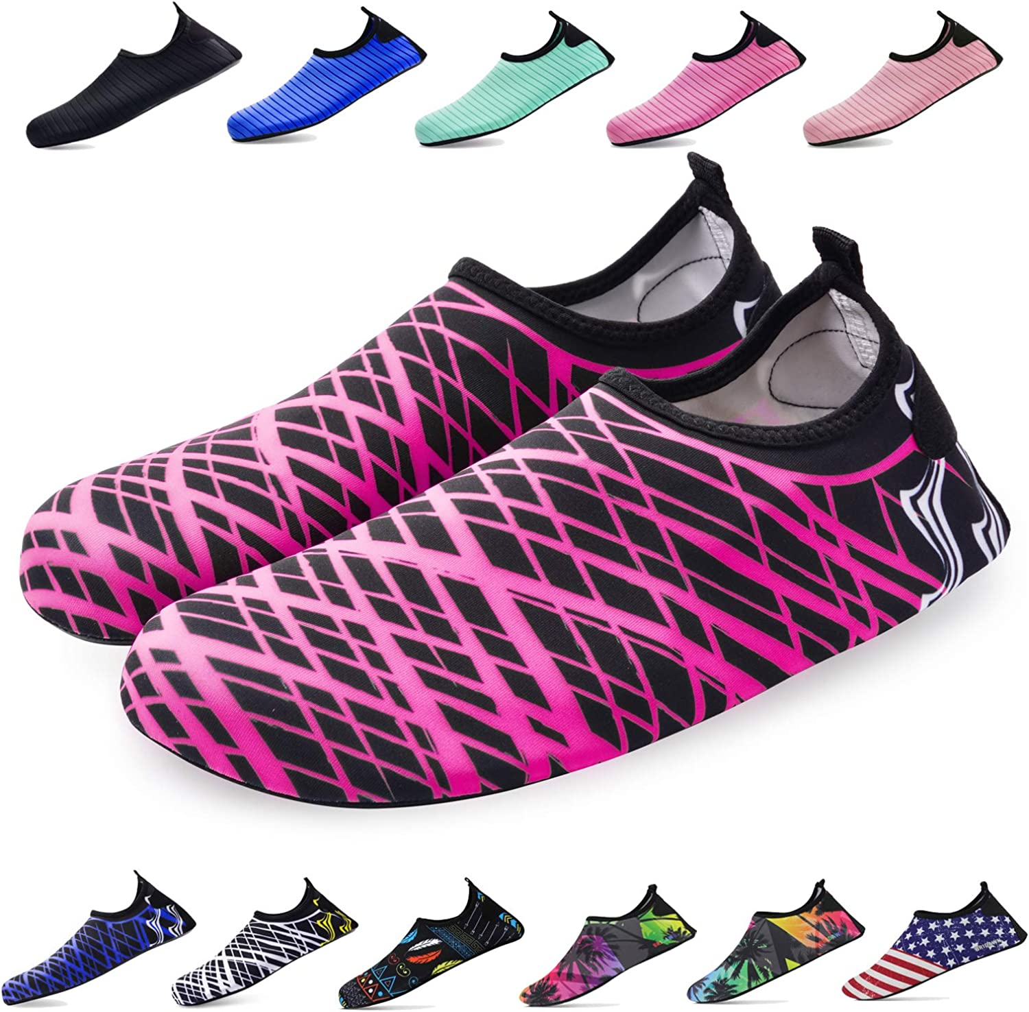Quick-Dry Socks Barefoot Shoes bridawn Water Shoes for Women and Men