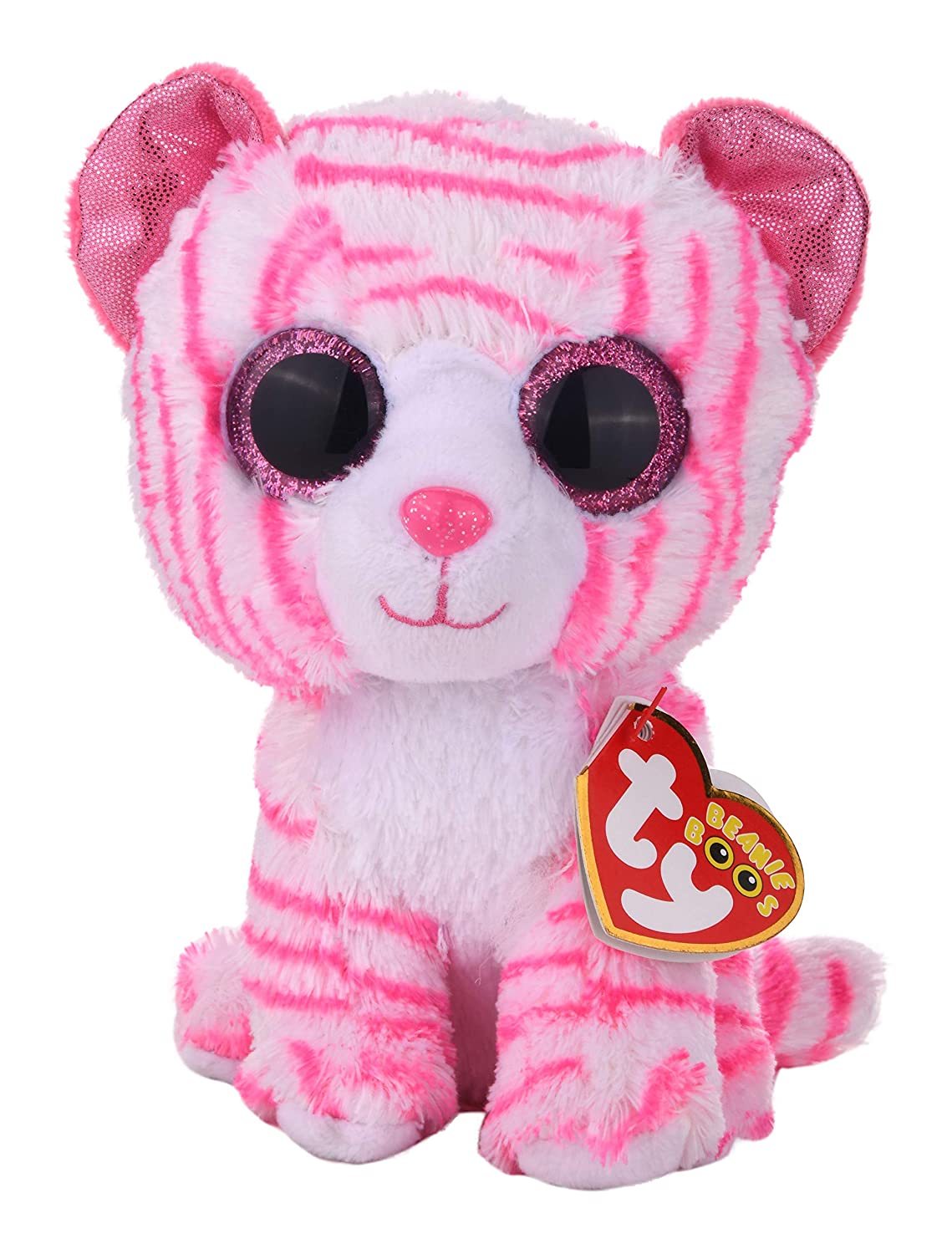 """Tiger 5/"""" Soft and Cuddly Plush Toy Press for Authentic Sound India Asia"""