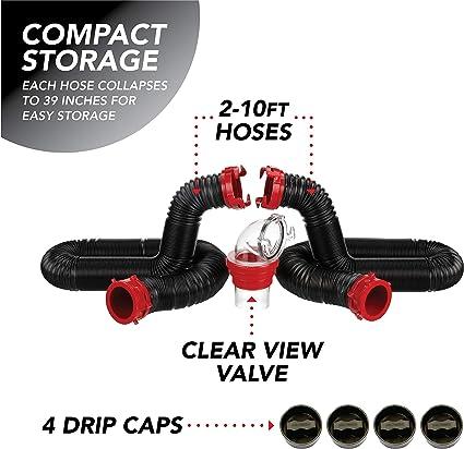RV Trailer Camper Sanitation The Dominator 20 Extension Hose VALTERRA D04-0275