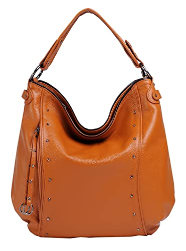 Heshe Women's Hobo Style Shoulder Handbag Cross Body Bag Top ...