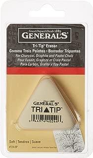 product image for General Pencil GPT24BP Tri-Tip Eraser-