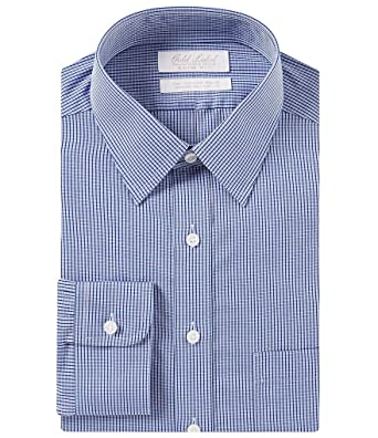 534e6d9b2986 Gold Label Roundtree & Yorke Non-Iron Slim Fit Point Collar Plaid ...