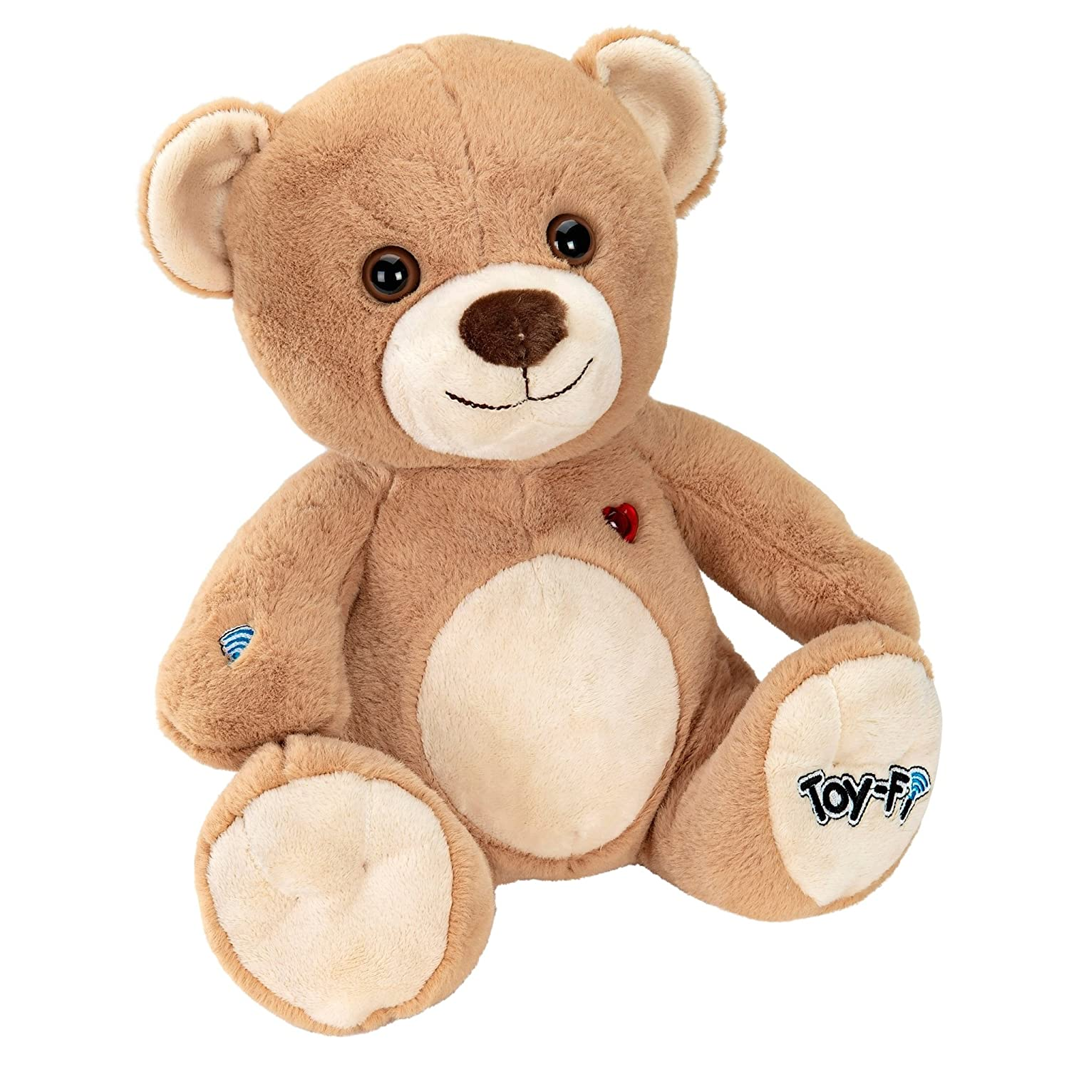 toy fi teddy plush toy amazon co uk toys games