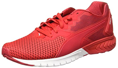 Ignite Dual Mesh Red Running Shoes