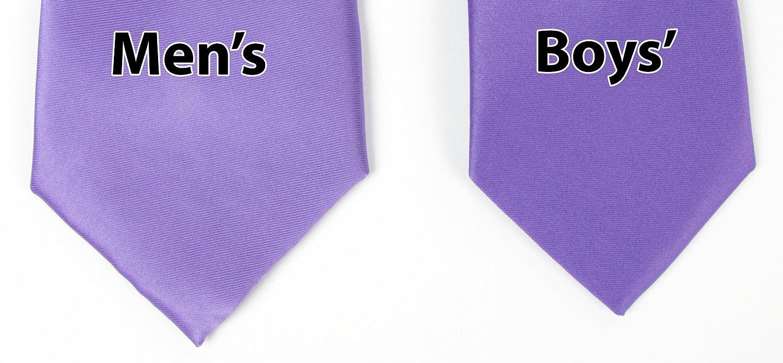 Spring Notion Boys Satin Zipper Neck Tie Optional Gift Box