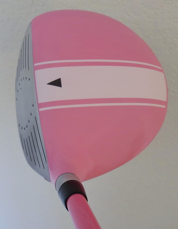 Amazon.com: Color rosa niñas Junior Club de Golf Set ...