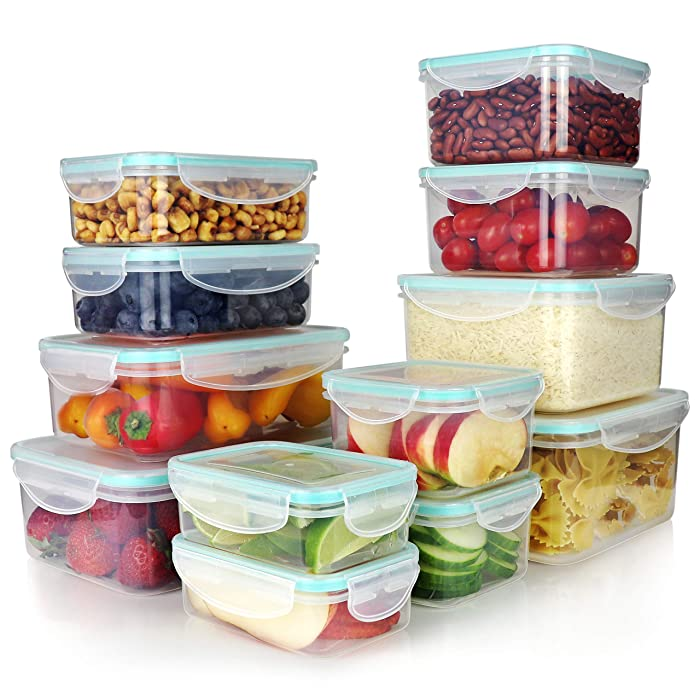 Top 10 Green Plastic Food Storage Containers With Silver