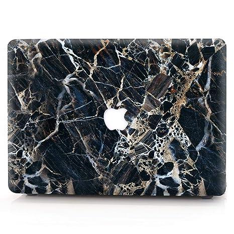 AQYLQ Funda Dura para MacBook Air 13 Pulgadas (A1369 / A1466), Ultra Delgado Carcasa Rígida Protector de Plástico Acabado Mate Cubierta, S5 Mármol ...