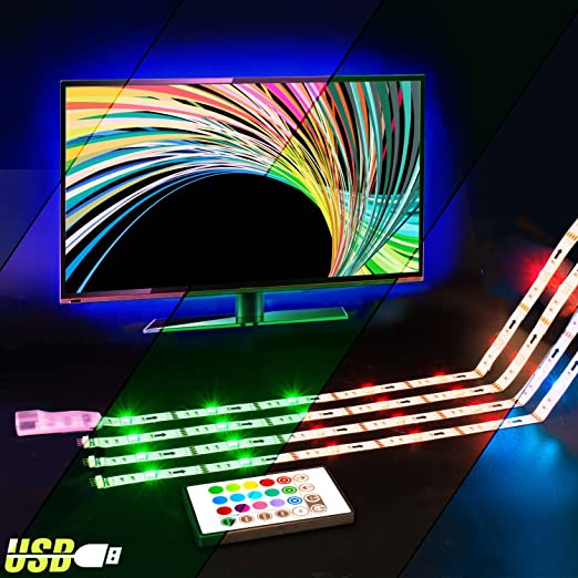 Led tv backlightvilsom 2m rgb usb led strip neon lights with remote led tv backlightvilsom 2m rgb usb led strip neon lights with remote control for aloadofball