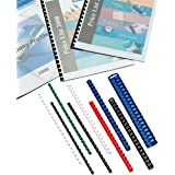 GBC - 100 Reliures à Spirales ComBind en Plastique - 8mm Format A4 - Noir