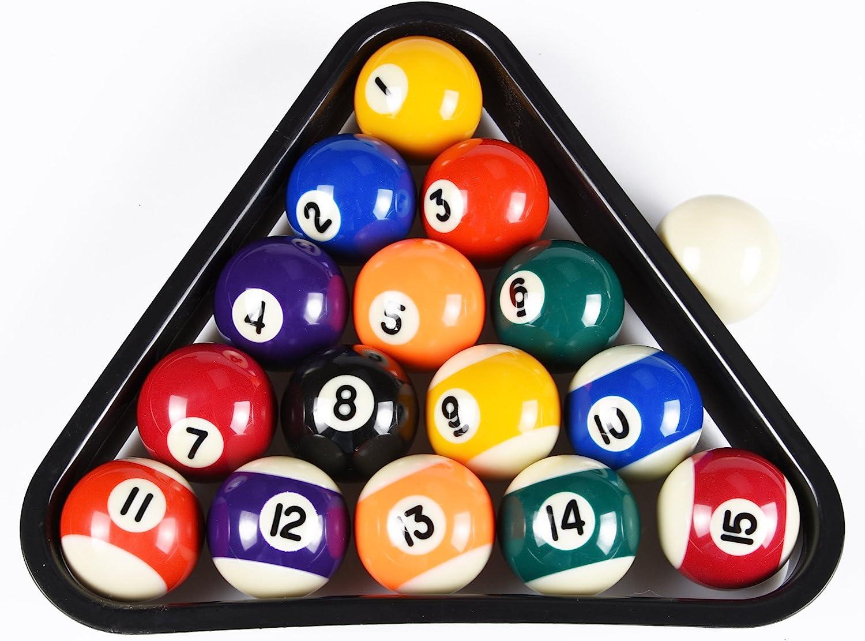 Amazon.com : DAD 5IVE Mini Billiards Pool Ball Set : Kid Pool Table :  Sports & Outdoors
