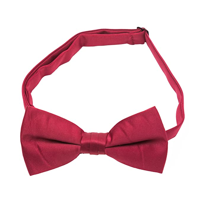 Satin Bow Ties Various Colours Adjustable
