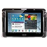 """Support voiture d'appuie-tête 180° pour tablettes Samsung Galaxy Tab tous modèles (Tab 4, Tab 3, Tab 2, Tab S, Note, 10,1"""", 8,9"""", 8.0"""" 7,0"""" et 7.0 Plus - SM-T530, SM-T800, P5200, SM-P600, P1000, P5100, P5110, P7500, P3100, P7300 et P6200) - ajustable et rotatif + Garantie de 5 ans par DURAGADGET"""