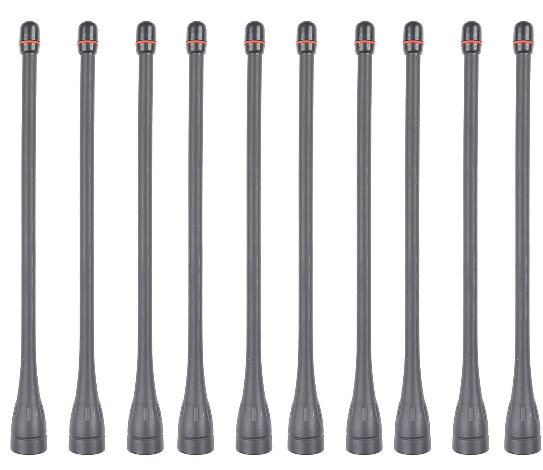 """5x UHF Antenna FA-SC57U for ICOM IC-F4000 F4001 F4002 F4003 Portable Radios 6.2/"""""""