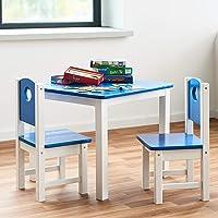 Juego de Mesa y sillas Infantil de Madera
