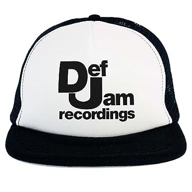 Doctor Music Shirt Cappello Def Jam, Trucker Cap Nero, Musica Rap Hip Hop  Anni