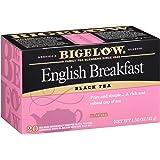 Bigelow English Breakfast Black Tea Bags, 20 Count Box (Pack of 6) Caffeinated Black Tea, 120 Tea Bags Total