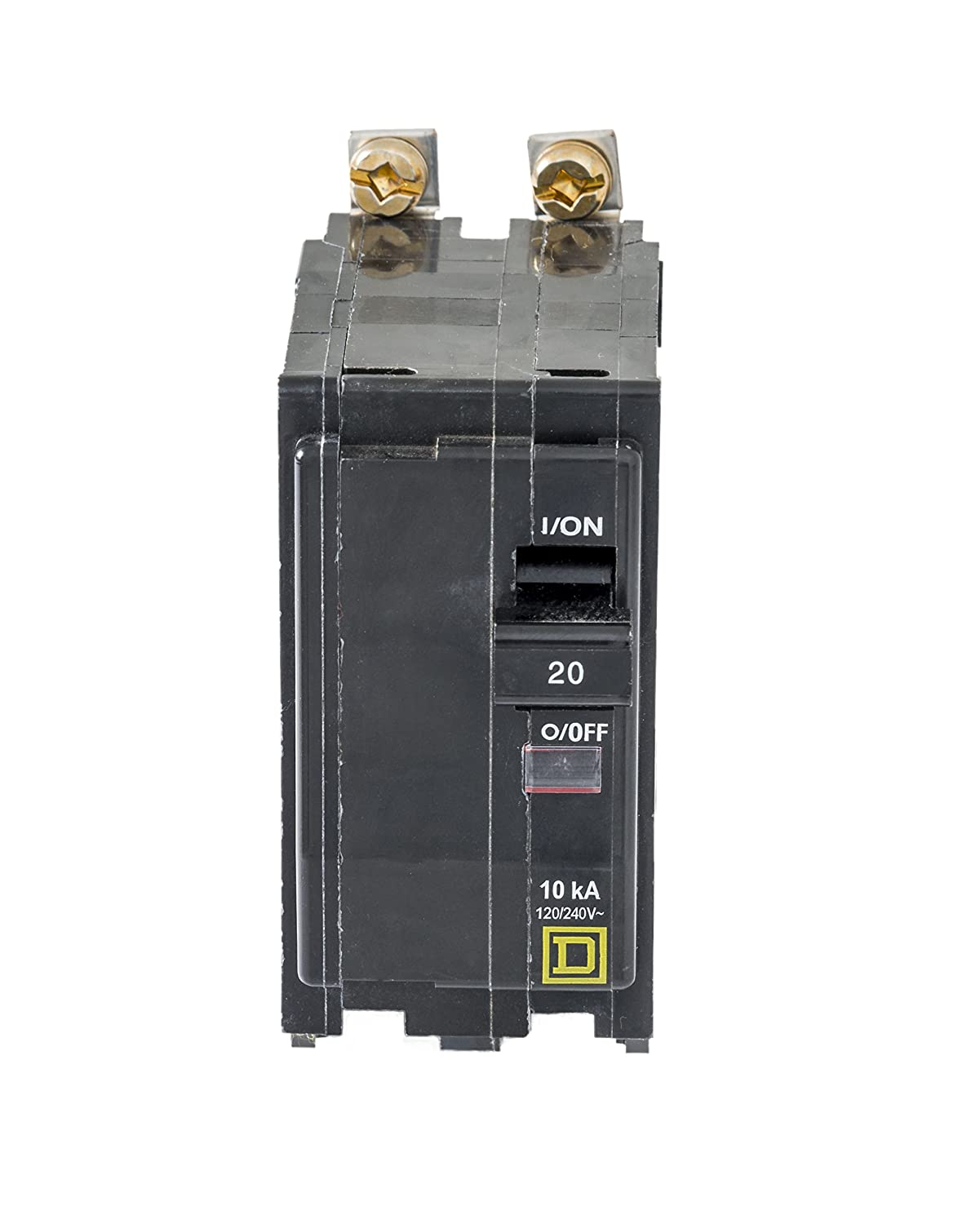 Square D By Schneider Electric Qob220cp 20 Amp Two Pole Bolt On Qo Qwikgard 15 Singlepole Gfci Circuit Breaker