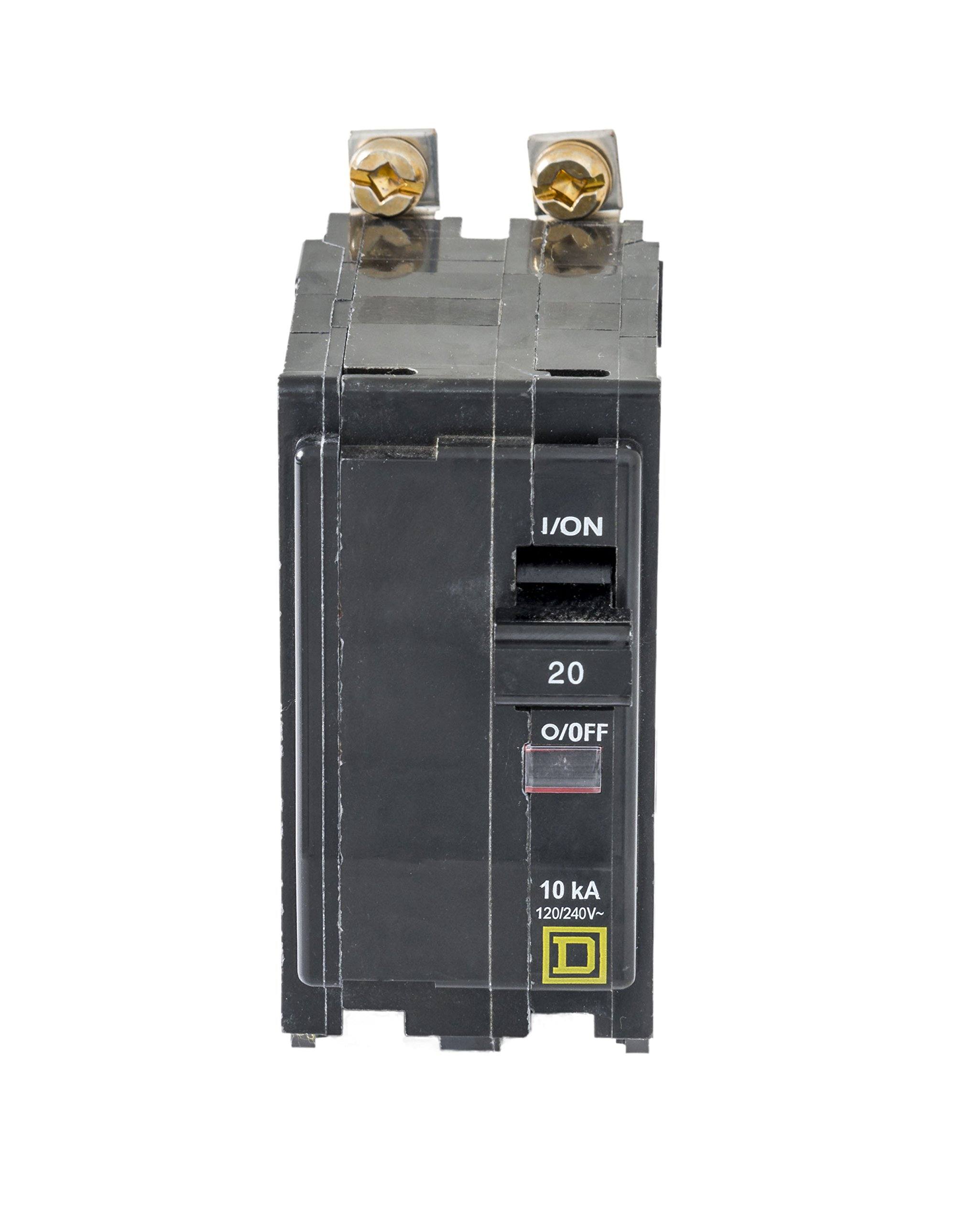 Square D by Schneider Electric QOB220CP 20-Amp Two-Pole Bolt-On Circuit Breaker by Square D by Schneider Electric