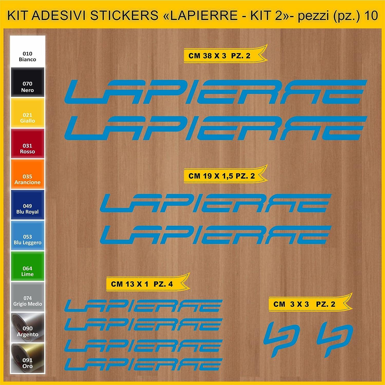 Kit Pegatinas Stickers Bicicleta Lapierre- Kit 2-10 Piezas- Bike ...