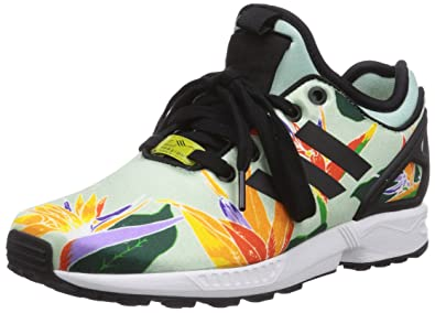 74643c6a1007c ... italy adidas zx flux nps unisex adult trainers green size 3.5 uk bed57  4146b