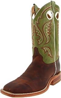 ff20347f65d Amazon.com | Justin Boots Men's Bent Rail Boot | Western