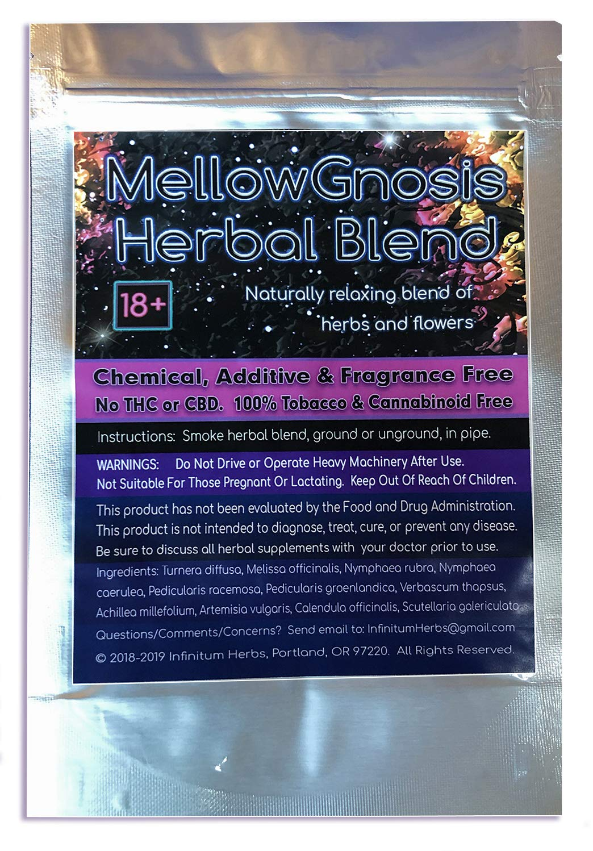 MellowGnosis Relaxing Herbal Smoking Blend